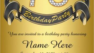 75th Birthday Invitation Ideas 16 75th Birthday Invitations Unique Ideas