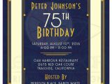 75th Birthday Party Invitation Ideas 16 75th Birthday Invitations Unique Ideas