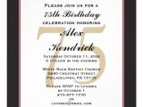 75th Surprise Birthday Invitations Personalized 75th Birthday Invitations 75th Birthday
