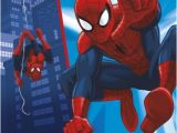 7th Birthday Invitation for Boy Spiderman theme Uk Greetings Spiderman 7th Birthday Card Whsmith
