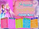 7th Birthday Invitation Message Sample Invitation Card for 7th Birthday Girl