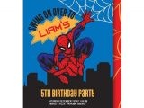 7th Birthday Invitation Spiderman theme 181 Best Abiel S 7th Birthday Images On Pinterest