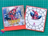 7th Birthday Invitation Spiderman theme Lenard Spiderman themed 7th Birthday Invitation Stunro