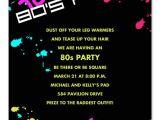 80 Birthday Invitation Ideas totally 80 39 S Birthday Invitations by Invitation