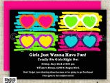 80 theme Party Invitations 80s Birthday Party Invitations totally 80s by
