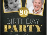 80 Year Old Birthday Party Invitations 80th Birthday Invitations 30 Best Invites for An 80th