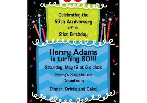 80 Year Old Birthday Party Invitations Cake 80th Birthday Invitations Paperstyle