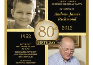 80 Year Old Birthday Party Invitations Free Printable 80th Birthday Invitations Free Invitation