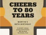 80 Years Birthday Invitation Template Black and Gold 80th Birthday Invitation Templates by Canva