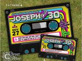 80s themed 40th Birthday Party Invitations 80 39 S Party Invitation 80 39 S Birthday Invitation