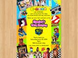 80s themed 40th Birthday Party Invitations 80s Birthday Invitation 80s Party Invitation 40th Birthday