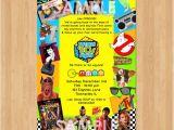 80s themed 40th Birthday Party Invitations 80s theme Party Invitations Printable 80s theme Invitations