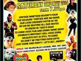 80s themed 40th Birthday Party Invitations Joint 40th 80 39 S Party Invite John 39 S 30th 80 39 S Partay