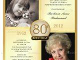 80th Birthday Invitation Templates 26 80th Birthday Invitation Templates Free Sample