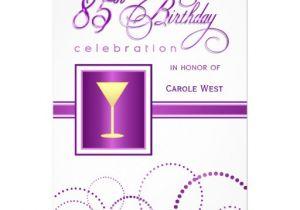 85 Birthday Invitations 85th Birthday Invitations Related Keywords 85th Birthday