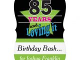 85 Year Old Birthday Invitations Surprise 85th Birthday Party Gifts T Shirts Art