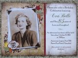 85th Birthday Invitations 85th Birthday Invitation On Behance