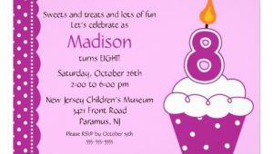 8th Birthday Invitation Templates 8th Birthday Party Invitations Wording