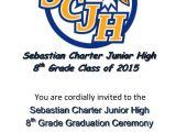 8th Grade Graduation Invitation Ideas 8th Grade Graduation Party Invitation Ideas