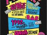 90s House Party Invitation Template 17 Best Images About 90 S Birthday Party On Pinterest