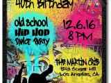 90s House Party Invitation Template Best 25 Hip Hop Party Ideas On Pinterest