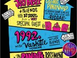 90s House Party Invitation Template Webster Hall House Party Nyc S Biggest Hip Hop Party