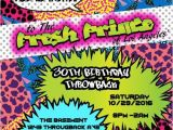 90s theme Party Invitations 90 S theme Fresh Prince Princess Hip Hop Digital