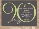 90th Birthday Party Invitations Templates Free 90th Birthday Invitations Birthday Party Invitations