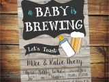 A Baby is Brewing Baby Shower Invitations A Baby is Brewing Invitation Beer Baby Shower Invitation