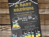 A Baby is Brewing Baby Shower Invitations Baby is Brewing Baby Shower for A Boy or Girl Bbq Invitation