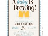 A Baby is Brewing Baby Shower Invitations Baby is Brewing Shower Invitations