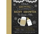 A Baby is Brewing Baby Shower Invitations Winter Baby is Brewing Baby Shower Invitations