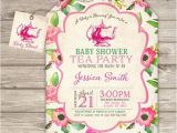 A Baby is Brewing Tea Party Baby Shower Invitations 17 Best Ideas About Tea Baby Showers On Pinterest