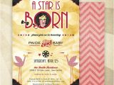 A Star is Born Baby Shower Invitations A Star is Born Baby Shower Invitation Gender Neutral by Hwtm