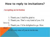 Accept Birthday Party Invitation Invitations and Replies to Invitations