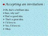 Accepting Birthday Invitation Invitation Expression