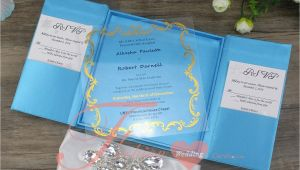 Acrylic Wedding Invitations with Box Acrylic Wedding Invitations with Silk Box Plexiglass