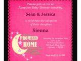 "Adoption Baby Shower Invitation Wording Adoption Baby Shower Girl 5 25"" Square Invitation Card"