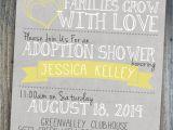 Adoption Baby Shower Invitation Wording Adoption Shower Invitation International Baby or Foster