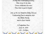 Adoption Baby Shower Invitation Wording Adoption Shower Invitation