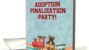 Adoption Finalization Party Invitations Adoption Finalization Party Invitations Baby Bear Riding