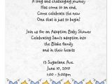 Adoption Party Invitation Wording Adoption Shower Invitation