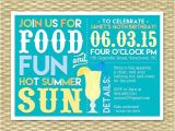 Adult Pool Party Invitations Adult Pool Party Invitation Summer Birthday Bbq Margarita