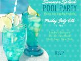 Adult Pool Party Invitations Adult Pool Party Invitations