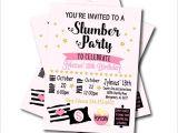 Adult Slumber Party Invitations Aliexpress Com Buy 20 Pcs Lot Slumber Party Invitations