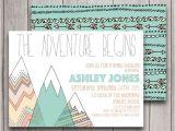 Adventure themed Baby Shower Invitations Adventure Baby Shower Invitation Digital by