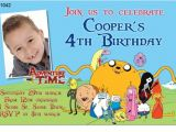 Adventure Time Party Invitation Template Cu1042 Adventure Time Birthday Invitation Boys themed