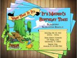 Adventure Time Party Invitation Template Novel Concept Designs Adventure Time Invitations
