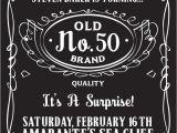 Affordable 50th Birthday Invitations 50th Birthday Party Invitations for Men Dolanpedia