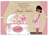 African American Baby Shower Invites Chic Nursery Girl African American Baby Shower Invitations
